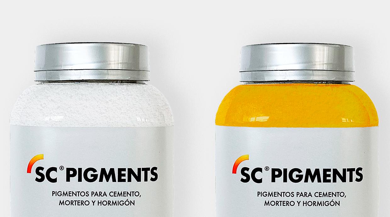 pigmentos en pequeño formato