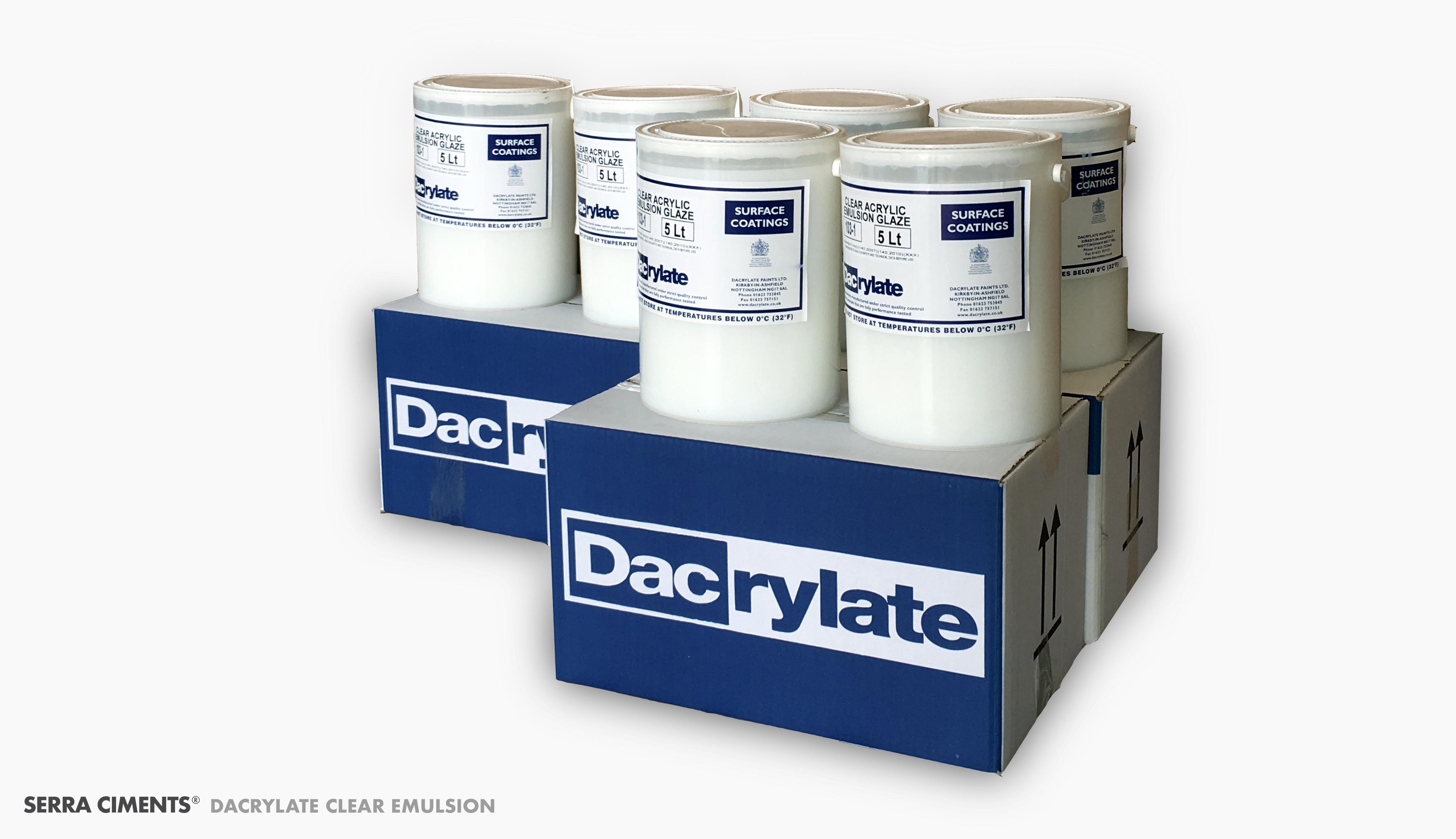 dacrylate clear emulsion