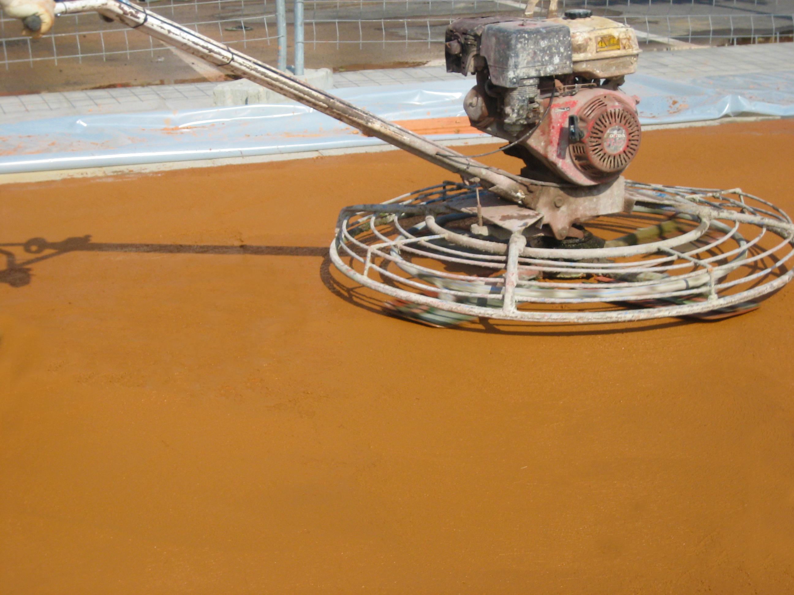 pigmentos para hormigón