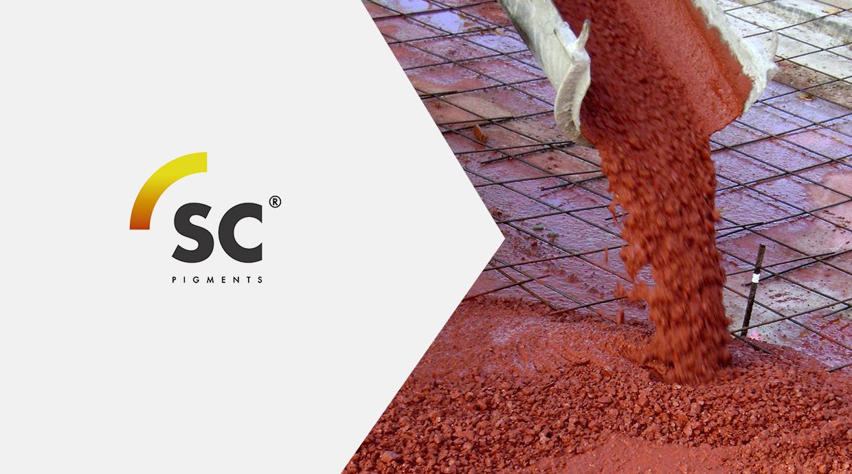Productos para la construcci n pigmentos fibras for Pigmento para cemento
